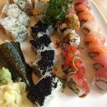 Special Rolls and a Hand Roll