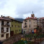 Vista del pueblo desde la terraza