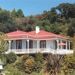 Collingwood Homestead overlooking Collingwood, Golden Bay