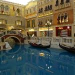 The Grand Canal at the Venetian