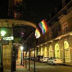 French Quarter bei Nacht