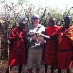 Visit to the Masai Village
