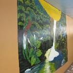 Mural at Hotel El Uran