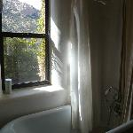 Agave Suite Bathtub with a view!