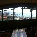 vista panoramica (de otro planeta) desde la Suite