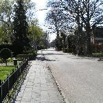 De Hoofdweg in Westerlee