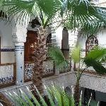 patio au 1er etage