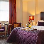 Double Room with plasma screen, comfy beds & free Wi-Fi.