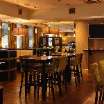 Watch live sports in the Habour Bar