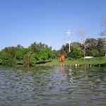 Statues at Hayarkon Park