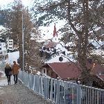 Path down to Village