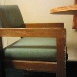 Well worn furnishings