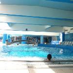 piscina con Aqua di mare
