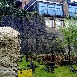 Veranda del ristorante sopra il Teatro Romano
