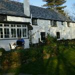 View if The Crown Inn and part of Garden
