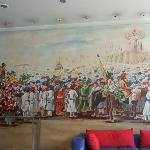 Painting in reception