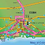 Map of Cobh - 3 Harbour Hill