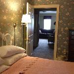 sign of the buck suite bedroom