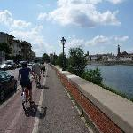 florence by bicycle line