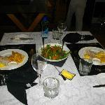 Dinner at Brantome Villa