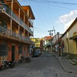 Street scene, old Flores