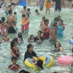 jam packed wave pool