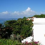 The Villas look over the Caribbean near Rincon, Puerto Rico