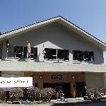 奥之院駅(山頂側)正面