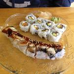 Philly roll and Atlantic roll- extra yum