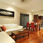 1 bedroom livng area
