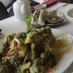 "Bong Cai Rang Muoi ""Peppered Broccoli"""