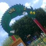 'Adventure Land'... Or 'Ure d', as the sign proclaimed