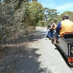 Two strean trains