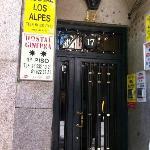 entrata dall'esterno su calle Fuencarral