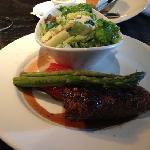 top sirloins & caesar salad @ Keg on York.
