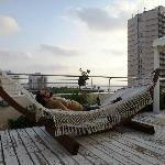 Shalom&Relax: the terrace (and me)