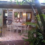 lovely breakfasts on the veranda