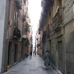 Ruelle dans le centre-ville