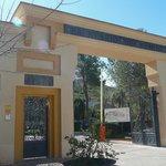 Esta es la entrada al Balneario