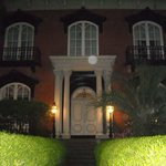 An orb captured at one of the houses on the Sixth Sense Savannah Tour