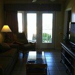 Livingroom towards balcony