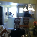 standing in the livingroom pic out to dining area and kitchen