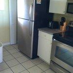 Kitchen area...
