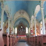 Ceiling of Dubina church
