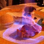 Dessert - the orange tart with peppercorn sobert is to die for!