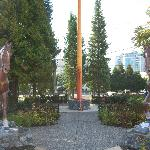 Statues of the Horsemen beleived to have come to BC around 1897