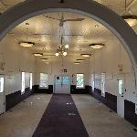 Interior for the prayer hall
