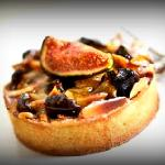 Fig and almond frangipane tart