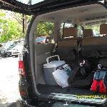 Pickup van