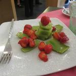 our breakfast fruit